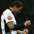 Lewis Brown of the Warriors celebrates a try with Manu Vatuvei. Photo / Getty Images