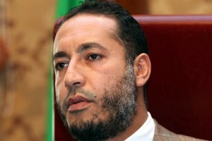 Saadi Gaddafi, son of ousted Libyan leader Muammar Gaddafi,is the second Gaddafi son wanted by Interpol. Photo / AFP