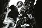 Nirvana show off the grunge look in 1993. Photo / Supplied
