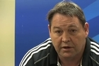 All Blacks assistant coach Steve Hansen gets behind the Warriors, and says the team's thoughts are with Jonah Lomu while he is in hospital.