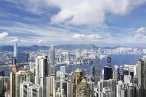 Prime office rents in Hong Kong have risen 60 per cent since July 2009. Photo / Thinkstock