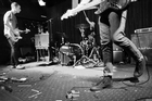 The Nevernudes perform at Where are you Sleeping Tonight? A Nirvana Tribute Show. Photo / Nick Kingstone