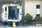 An ambulance was scrubbed out after a man was taken to hospital in a life-threatening condition. Photo / Kerri Vernon