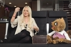 Lindsay Lohan is one of the stars to feature alongside Rico in Air New Zealand's online ads. Photo / Supplied