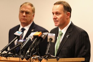 Prime Minister John Key and Minister of Defence Wayne Mapp have defended the government's commitment of troops to Afghanistan. Photo / Getty Images