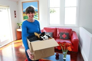 Jane Tuson put a lot of effort into decluttering. This alone can add thousands to the final sale price. Photo / Doug Sherring