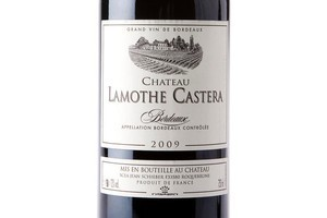 Chateau Lamothe Castera Bordeaux, France 2009 $15. Photo / Babiche Martens