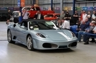 The Ferrari F430 F1 produces 360kW from its 4.3 litre V8 engine and will do more than 300km/h. Photo / Doug Sherring