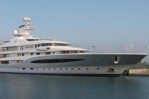The Mayan Queen IV, which was built in 2008, can sleep 16 guests and 24 crew. It is one of the largest yachts to visit in the past 6 years. Photo / Supplied
