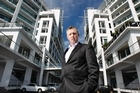 Dean Humphries says 50 parties have made inquiries about buying the Hilton Auckland on Princes Wharf. Photo  / Steven McNicholl