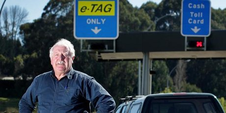 Bob Clarkson is leading a campaign to have roading tolls scrapped in Tauranga. Photo / Alan Gibson
