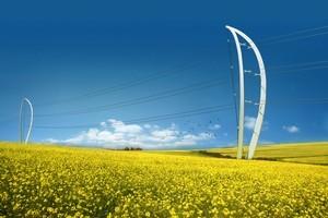 The sail-shaped Plexus pylon mimics the surrounding typography. Photo / Supplied