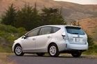 Toyota Prius Wagon 2012. Photo / Supplied