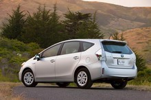 Toyota Prius Wagon 2012. Photo / Supplied 