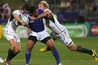 Alesana Tuilagi in action. Photo / Greg Bowker