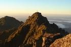 The summit of Mt Hikurangi at sunset. Photo / Vicki Virtue