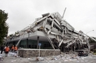 The collapse of the Pyne Gould Corporation building has been blamed on strong shaking and