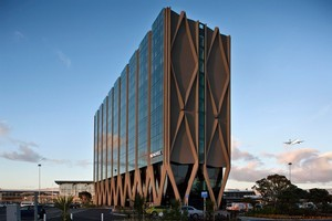 The Novotel Auckland Airport is a joint venture between the Tainui tribe, the airport and hotel operator Accor. Photo / APN