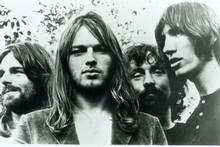 Richard Wright, David Gilmour, Nick Mason and Roger Waters, circa 1973. Photo / Supplied