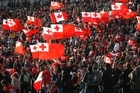 Tonga's supporters say their passion for their team is a reflection of how patriotic Tongans are. Photo / Sarah Ivey