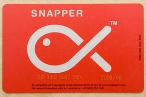 One of Infratil's 'snapper' cards. Photo / Paul Estcourt