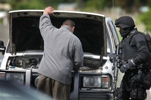 Police charged 18 people over alleged terrorism  activities in the Ureweras. Photo / Alan Gibson