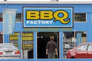 The BBQ Factory chain is now in receivership after a 'bad winter.' Photo / File