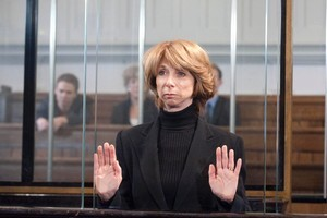 Gail McIntyre [ Helen Worth ] in a scene from Coronation Street. Photo / TVNZ supplied