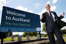 Auckland super city Mayor Len Brown. Photo / Steven McNicholl