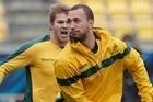 The Australia-Russia World Cup match is in Nelson tonight. Photo / Mark Mitchel