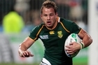 South Africa's Francois Hougaard. Photo / Richard Robinson