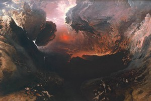 John Martin's The Great Day of His Wrath. Photo / Tate Britain