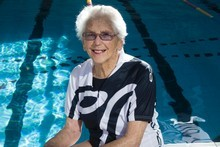 Kath Johnstone, 93, says older people should be seen and heard. Photo / Paul Estcourt