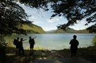 The Crown pays a lease on the Waikaremoana lake bed until 2017 and owns all the water. Photo / APN
