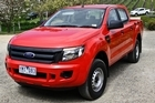 Double Cab XL's brawny nose is influenced by the American F-series pickups. Photo / Supplied