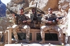 The late Lieutenant Tim O'Donnell (left), Lance Corporal Allister Baker and Corporal Matthew Ball. Photo / Supplied