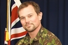 Lance Corporal Leon Smith was flown by helicopter to a hospital 10 minutes away, but died on the operating table soon after he arrived there. Photo / New Zealand Defence Force