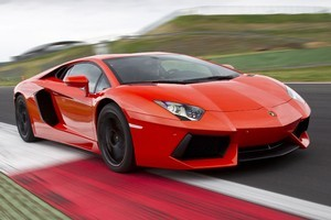 Lamborghini Aventador. Photo / Supplied