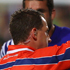 Referee Nigel Owens show Paul Williams of Samoa a red card during the Pool D match between South Africa and Samoa at North Harbour Stadium. Photo / Getty Images