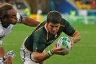 Morne Steyn is the top points scorer with 48 points. Photo / Getty Images