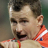 Referee Nigel Owens gestures to the players during the Rugby World Cup game between Samoa and South Africa at North Harbour Stadium. Photo / AP