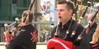 Watch: Red Hot Chilli Pipers rock Rugby World Cup
