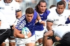 The clash between Fiji and Samoa had a Six Nations feel to it. Photo / Getty Images