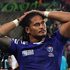 Alesana Tuilagi of Samoa looks on after defeat. Photo / Getty Images