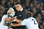 Sonny Bill Williams impressed by moving onto the wing with little experience. Photo / Getty Images