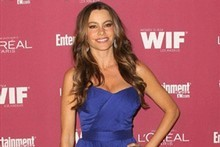 Sofia Vergara has launched a line of clothes with American retailer Kmart. Photo / AFP