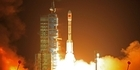 China launches first space station module