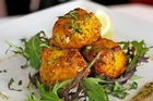 Tiffin's fish tikka proved substantial. Photo / Steven McNicholl