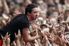 New Zealand music fans won't find out if Shihad and other bands are on the Big Day Out 2012 line-up until late on Thursday night. Photo / Richard Robinson