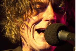 Graeme Downes performs with The Verlaines  at Sammy's in Dunedin. Photo / Roger Grauwmeijer
